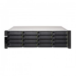 ES1686DC-2142IT-96G-US QNAP 16 Bay Rackmount NAS/iSCI/IP-SAN 1.9 GHz Intel Xeon D-2142NT 8-core Dual Controller 48GB ECC RAM - No HDD