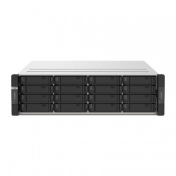 GM-1001-US QNAP 20 Bay Rackmount NAS 3.6GHz Intel Xeon E-2234 4-core 8GB RAM - No HDD