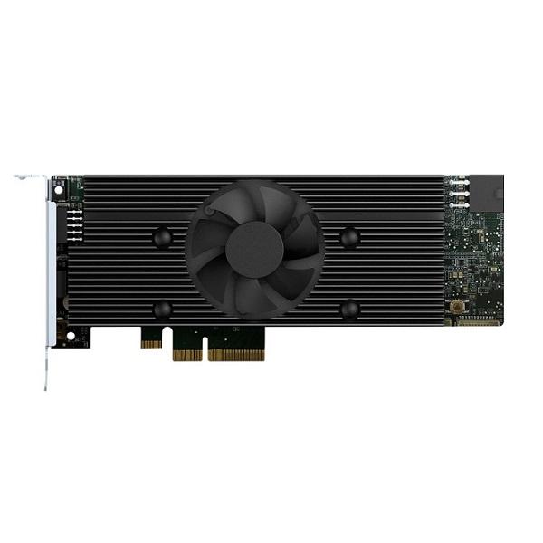 Mustang-V100-MX8-R10 QNAP Computing Accelerator Card with 8 x Movidius Myriad X MA2485 VPU, PCIe gen2 x4 interface, RoHS