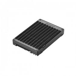 QDA-UMP QNAP U.2 PCIe NVMe Gen3 x4 to M.2 2280 PCIe NVMe Gen3 x4 Adapter