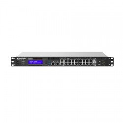 QGD-1602P-C3558-8G-US Qnap 8 x 2.5GbE PoE Port Plus 8 x 1GbE PoE Ports 500W Total PoE Switch