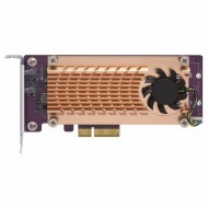 QM2-2P-244A Dual M.2 22110/2280 PCIe SSD expansion card (PCIe Gen2 x4), Low-profile bracket pre-loaded, Low-profile flat and Full-height are bundled
