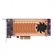 QM2-2S-220A QNAP Dual M.2 22110/2280 SATA SSD Expansion Card