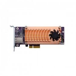 QM2-2P10G1TA QNAP QM2 Expansion Card 2 x PCIe 2280 M.2 SSD Slots