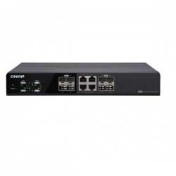 QSW-804-4C-US QNAP 8 Port 10GbE Unmanaged PoE Switch