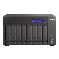 QVP-85A-US QNAP 8 Channel NVR 528Mbps Max Throughput - No HDD