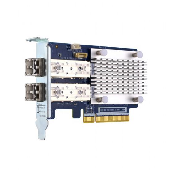 QXP-32G2FC QNAP 32Gb/s Fibre Channel Host Bus Adapter - Includes 2 Transceivers