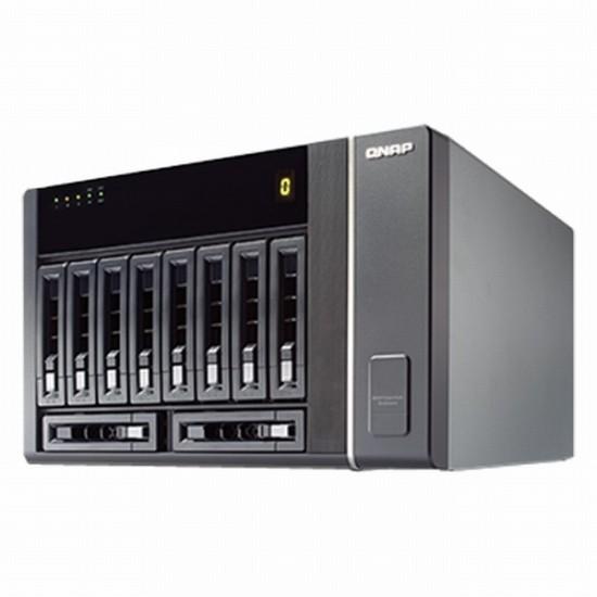 REXP-1000-PRO QNAP 10-Bay Desktop SAS/SATA/SSD RAID Expansion Enclosure for Turbo NAS - No HDD