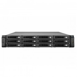 REXP-1220U-RP-US QNAP 12-Bay Rackmount 12Gbps SAS RAID Expansion Enclosure for QNAP NAS - No HDD