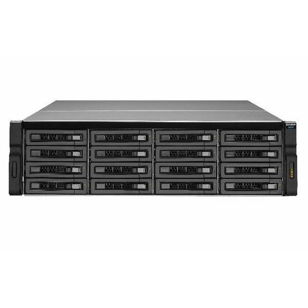 REXP-1620U-RP-US QNAP 16-Bay Rackmount 12Gbps SAS RAID Expansion Enclosure for NAS - No HDD