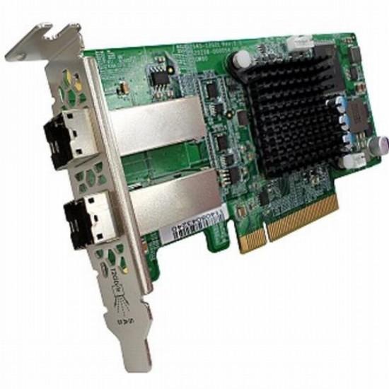 SAS-12G2E QNAP Dual-port SAS 12G Storage Expansion Card for Rackmount Modelsv