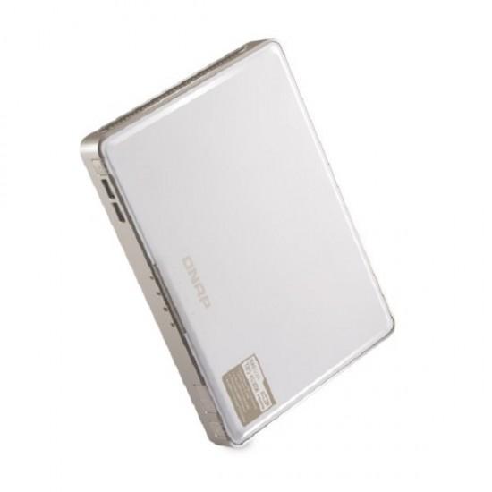 TBS-453DX-8G-US QNAP 4-bay M.2 SSD NASbook 1.5GHz, Intel Celeron J4105 4-core 8GB RAM  - No HDD