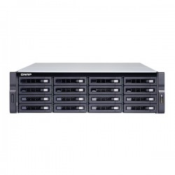 TDS-16489U-SE1-R2-US QNAP 16-Bay NAS and iSCSI/IP-SAN 2.1 GHz Dual Processor E5-2620 v4 8-core 64GB RAM - No HDD