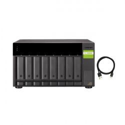 TL-D800C-US QNAP 8-Bay Desktop USB-C 3.1 Gen2 10Gbps JBOD Expansion Unit