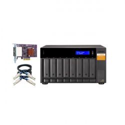 TL-D800S-US QNAP 8-Bay Desktop SATA JBOD Expansion Unit