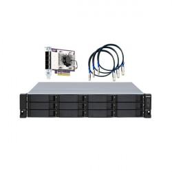 TL-R1200S-RP-US QNAP 12-Bay 2U Rackmount SATA JBOD Expansion Unit
