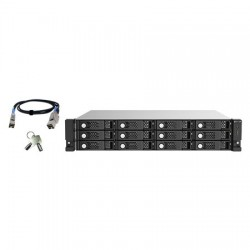 TL-R1220SEP-RP-US QNAP 12-Bay 2U Rackmount SAS 12Gb/s JBOD Expansion Unit