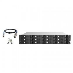 TL-R1220SEP-RP-US QNAP 12-Bay 2U Rackmount SAS 12Gb/s JBOD Expansion Unit