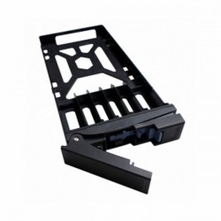 "TRAY-25-NK-BLK01 Qnap SSD Tray for 2.5"" drives without key lock black plastic tooless"