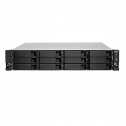 TS-1232XU-RP-4G-US QNAP 12-Bay Rackmount NAS 1.7 GHz Alpine AL-324 4GB RAM - No HDD