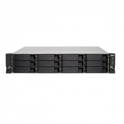 TS-1253BU-4G-US QNAP 12-bay Rackmount NAS 1.5GHz Intel Apollo Lake J3455 4-core 4GB RAM - No HDD
