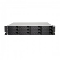 TS-1253BU-8G-US QNAP 12-bay Rackmount NAS 1.5GHz Intel Apollo Lake J3455 4-core 8GB RAM - No HDD