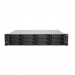 TS-1253BU-RP-4G-US QNAP 12-bay Rackmount NAS 1.5GHz Intel Apollo Lake J3455 4-core 4GB RAM - No HDD