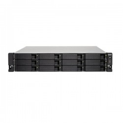 TS-1253BU-RP-8G-US QNAP 12-bay Rackmount NAS 1.5GHz Intel Apollo Lake J3455 4-core 8GB RAM - No HDD