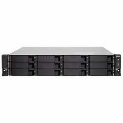 TS-1263XU-4G-US QNAP 12-Bay NAS/iSCI/IP-SAN 2.0GHz AMD G-Series GX-420MC quad-core 4GB RAM