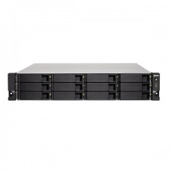 TS-1263XU-RP-4G-US QNAP 12-Bay NAS/iSCI/IP-SAN 2.0GHz AMD G-Series GX-420MC quad-core 4GB RAM - No HDD