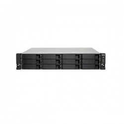 TS-1273U-8G-US QNAP 12-Bay Rackmount NAS 2.1 GHZ AMD R-Series RX-421ND 8GB RAM - No HDD