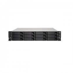 TS-1273U-RP-16G-US QNAP 12-Bay Rackmount NAS 2.1 GHZ AMD R-Series RX-421ND 16GB RAM - No HDD