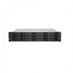 TS-1273U-RP-64G-US QNAP 12-Bay Rackmount NAS 2.1 GHZ AMD R-Series RX-421ND 64GB RAM - No HDD
