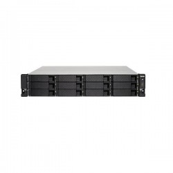 TS-1273U-RP-8G-US QNAP 12-Bay Rackmount NAS 2.1 GHZ AMD R-Series RX-421ND 8GB RAM - No HDD