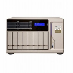 TS-1277-1600-8G-US QNAP 12-Bay Desktop NAS/iSCI/IP-SAN 3.2 GHz AMD Ryzen 5 1600 6-core 8GB RAM - No HDD