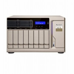 TS-1277-1700-64G-US QNAP 12-Bay Desktop NAS/iSCI/IP-SAN 3.0 GHz AMD Ryzen 7 1700 8-core 64GB RAM - No HDD