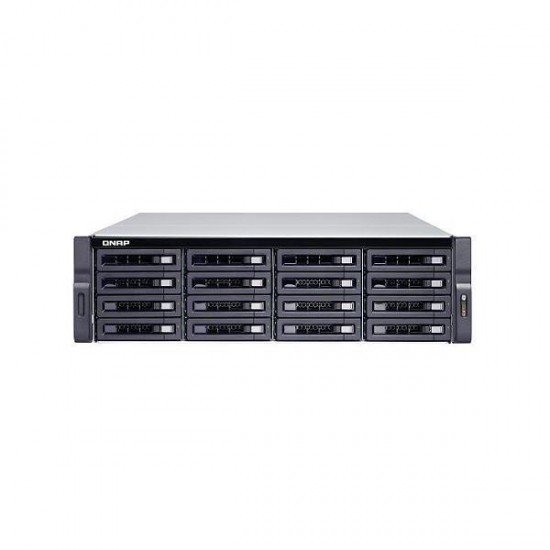 TS-1673U-8G-US QNAP 16-Bay Rackmount NAS 2.1 GHZ AMD R-Series RX-421ND 8GB RAM - No HDD