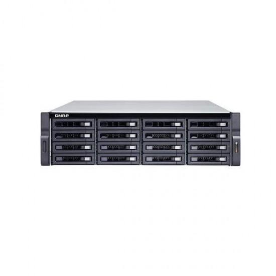 TS-1673U-RP-64G-US QNAP 16-Bay Rackmount NAS 2.1 GHZ AMD R-Series RX-421ND 64GB RAM - No HDD