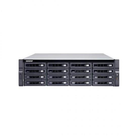TS-1673U-RP-8G-US QNAP 16-Bay Rackmount NAS 2.1 GHZ AMD R-Series RX-421ND 8GB RAM - No HDD