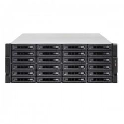 TS-2477XU-RP-2600-8G-US QNAP 24-Bay Rackmount NAS and iSCSI IP-SAN 3.2 GHz AMD Rysen 5 2600 6-core 8GB RAM  - No HDD