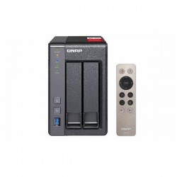 TS-251+-2G-US QNAP 2-Bay Desktop NAS 2.0 GHz Quad-core Intel Celeron 2GB RAM - No HDD