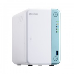 TS-251D-4G-US QNAP 2-Bay Desktop NAS 2.0 GHz Dual-core Intel Celeron 4GB RAM - No HDD