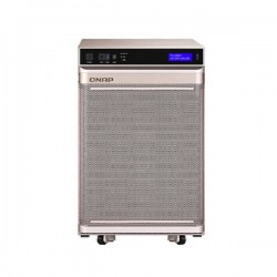 TS-2888X-W2175-512G-US QNAP 28-Bay NAS and iSCSI IP-SAN 2.5 GHz Intel Xeon Processor W-2175 14-core 512GB RAM - No HDD