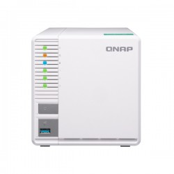 TS-328-US QNAP 3-Bay NAS 1.4 GHZ Quad-core ARM Cortex 2GB RAM - NO HDD