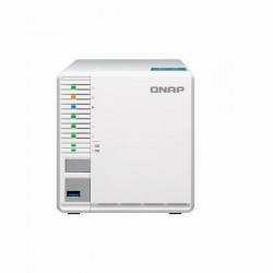 TS-351-4G-US QNAP 3-Bay NAS 2.41 GHz Intel Celeron J1800 dual core 4GB RAM
