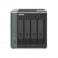 TS-431X3-4G-US QNAP 4 Bay Desktop NAS 1.7GHz Alpine AL314 4-core 4GB RAM - No HDD
