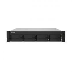 TS-832PXU-4G-US QNAP 8 Bay Rackmount NAS/iSCI/IP-SAN 1.7GHz Alpine AL324 64-bit ARM Cortex-A57 Quad-core 4GB RAM - No HDD