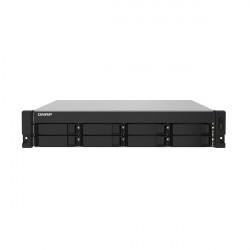 TS-832PXU-RP-4G-US QNAP 8 Bay Rackmount NAS/iSCI/IP-SAN 1.7GHz Alpine AL324 64-bit ARM Cortex-A57 Quad-core 4GB RAM - No HDD
