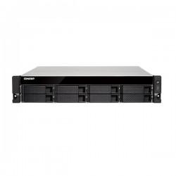 TS-853BU-RP-8G-US QNAP 8-bay Rackmount NAS 1.5GHz Intel Apollo Lake J3455 4-core 8GB RAM - No HDD