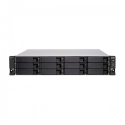 TS-H1277XU-RP-3700X-128G-US QNAP 12-Bay Rackmount QTS hero NAS 3.4 GHz AMD Ryzen 5 3700X 8-core 128GB RAM - No HDD